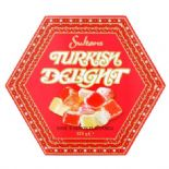 Sultans Rose and Lemon Turkish Delight Box 325g